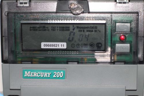 как проверить счетчик меркурий200 на работоспособность