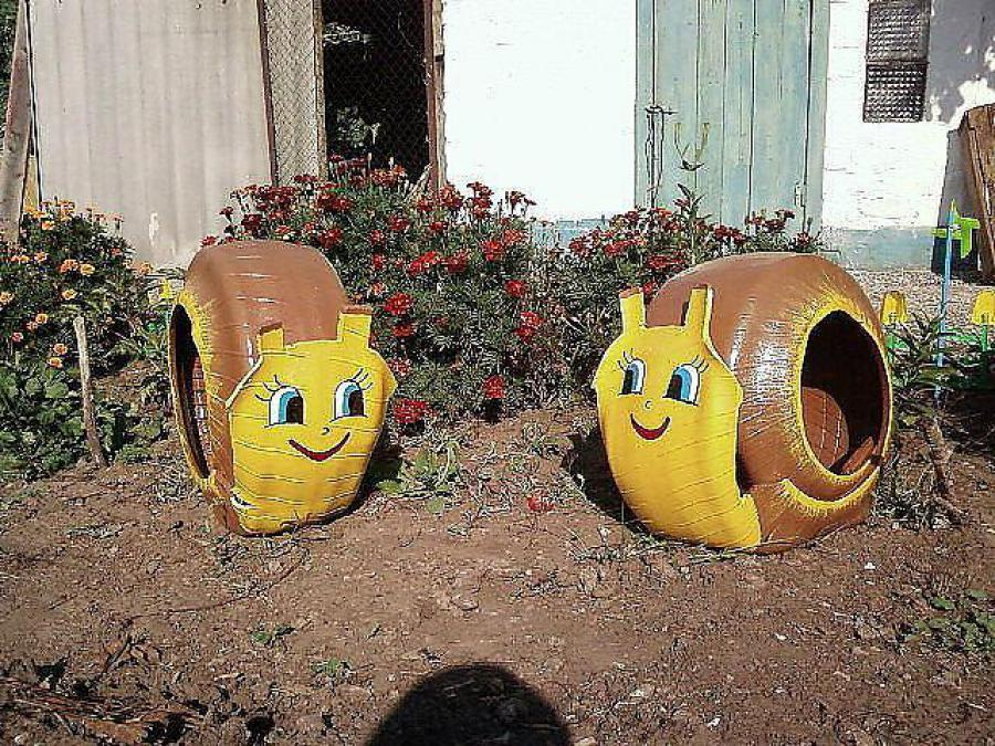 Игрушки для сада своими руками фото