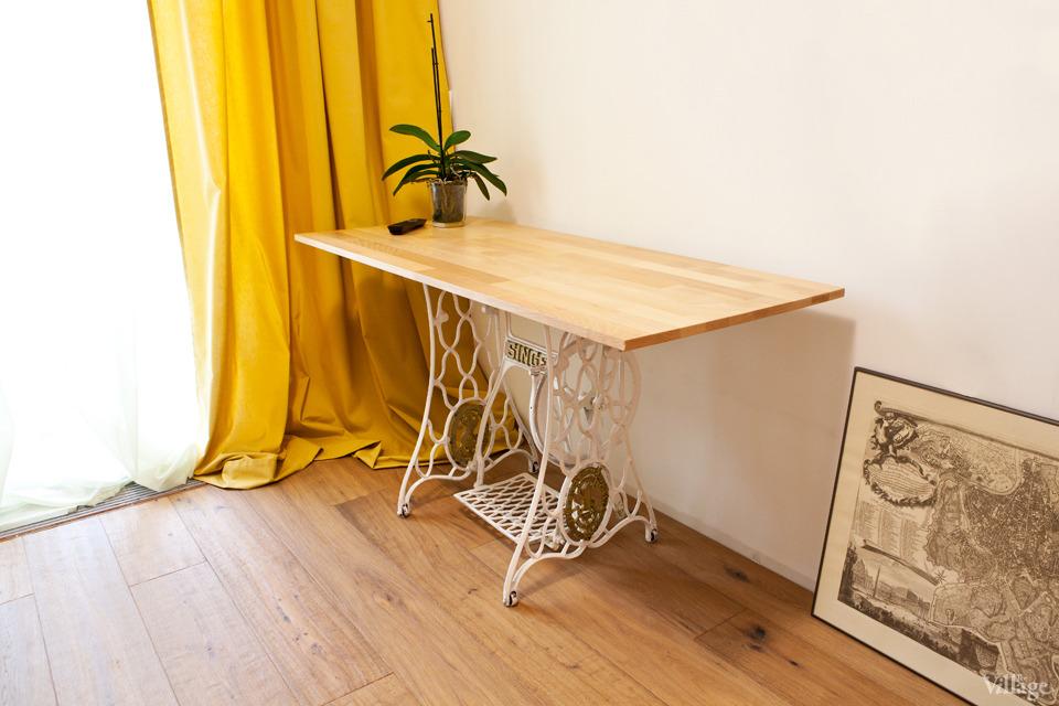 Как сделать стол под машинку 74